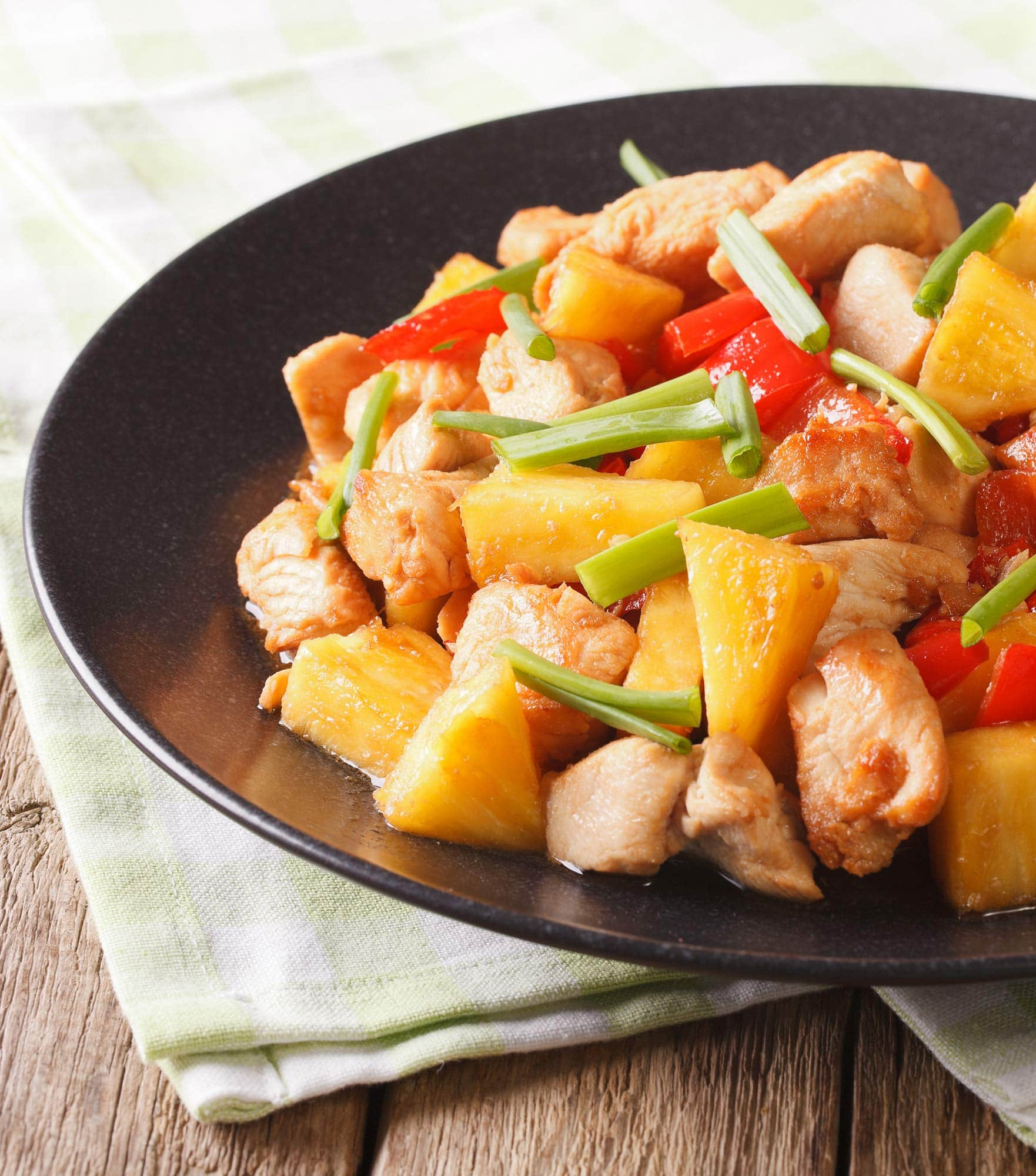 Stir Fry with Sweet & Sour Sauce